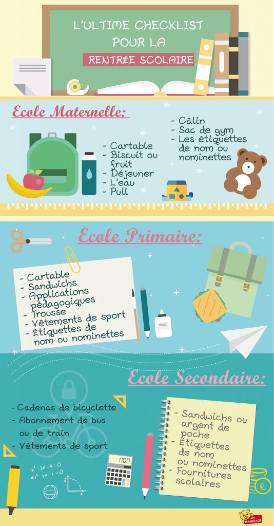 Back to School Infographic FR